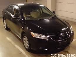 2007 Toyota Camry Black for sale | Stock No. 52362 | Japanese Used ...