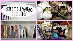 de clutter extreme home declutter before after youtube