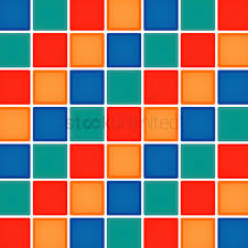 Checkered Design Multicolor Checkered Background Vector Image 1260099