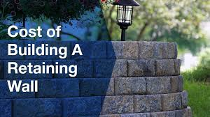 cost of building a retaining wall