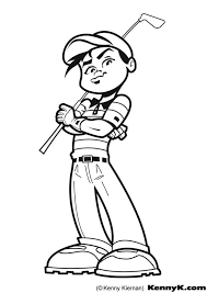 Small Picture Free Coloring Pages Golf Coloring pages golf sports gt free
