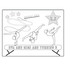 Gymnast Coloring Pages Gymnastics Boy Gymnast Coloring Pages