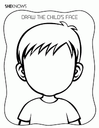 Make your world more colorful with printable coloring pages from crayola. Blank Face Coloring Page Coloring Home