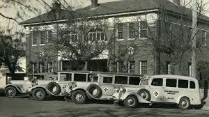 Johnston Ambulance Service Waga Wagga Ambulance Station On Johnston St Wagga Wagga In 1937 The