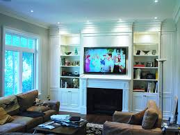 built in wall unit american