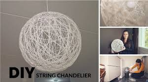 antistyle diy string chandelier tutorial
