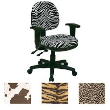 leopard print office chair. office star animal print multi controlled sculpted chair with arms leopard m
