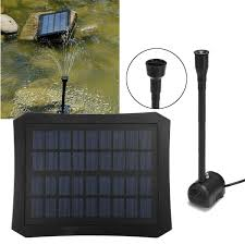 Fountain Lights And Pumps 7v Solar Power Fountain Pool Water Pump Kit Timer Led Light Garden Pond Submersible Pumps