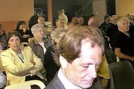 A la tribune, Gilles Alcouffe, René Aron, <b>Jean-Raoul</b> Payré (président) et <b>...</b> - a-la-tribune-gilles-alcouffe-rene-aron-jean-raoul-payre_178354_516x343