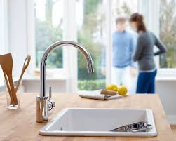 Grohe Concetto Kitchen Faucet Faucetcom 32665001 In Starlight Chrome By Grohe