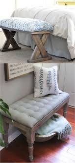 Bench Out Of Headboard Best 25 Diy Bench Ideas On Pinterest Benches Diy Wood Bench