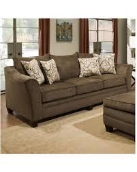 simmons furniture. simmons upholstery kalispell sofa 6483-03 kalispel mink furniture