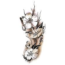 1 шт модные пикантные для женщин временные татуировки сливы водонепроницаемый
