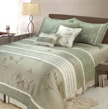 classy green king size comforter sets set bedding lime twin white bedspread queen sea