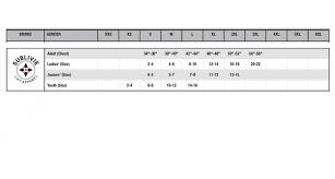 Size Chart Sublivie Lat