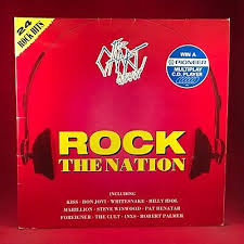 Vinyl Record Condition Chart The Chart Show Rock The Nation Various Vinyl Record
