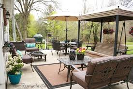 concrete slab patio makeover. Delighful Makeover Concrete Slab Patio Makeover  Backyard  700 X 467 And