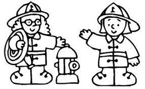 Bambini Pompieri Disegni Da Colorare Disegni Da Colorare E