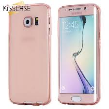 KISSCASE 360 Full Protect Soft TPU Case for Samsung Galaxy S3 S5 S6 S7 Edge Plus