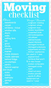 Printable Moving Checklist The Typical Mom