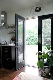 black french doors patio. Simple Patio Black Doors  Outside Evening Hush By Behr Inside Deepest Black  Glidden For French Doors Patio C