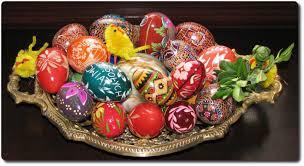 Традиции празднования Пасхи Православный журнал Фома  Традиции Пасхи Польские писанки Фото jaroslaw pocztarski