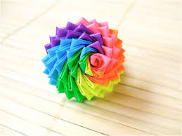 Neon Rainbow Duct Tape Rose Ring - Colorful Duck Tape Ring. $13.00, via Etsy