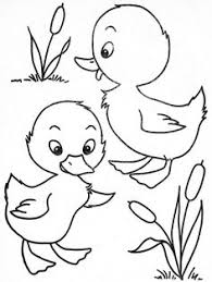 Small Picture Download free printable Cute Baby Duck Coloring Pages to color