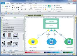 enterprise application diagram software