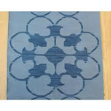 madeline weinrib blue muna rug 2396 x 939 chairish madeline weinrib cotton rugs