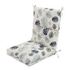 black textiles garden chair cushions