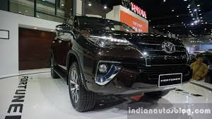 new car 2016 thai2016 Toyota Fortuners Indian launch to take place in 2017