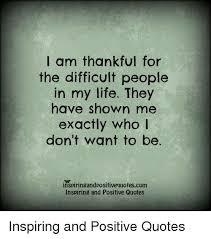 I Am Thankful Quotes Delectable I Am Thankful For The Difficult People In My Life They Have Shown Me