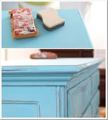 distressed blue furniture. Aging-and-Distressing-Furniture-Tutorial Distressed Blue Furniture