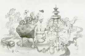The Vanishing Box, Drawing by Lacey Stinson | Artmajeur