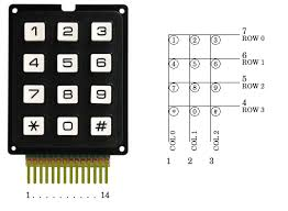 how to read keypad with arduino and i2c centurion keypad wiring diagram Keypad Wiring Diagram #15