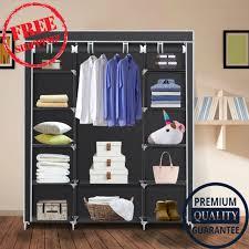 clothes closet portable storage organizer wardrobe closet non woven fabrics news