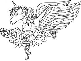 Free printable unicorn coloring page that can be a fun activity for a unicorn themed party. Unicorn Coloring Pages Free Printable Coloring Pages For Kids