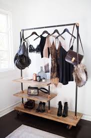 Small Bedroom Clothes Storage Interior Design Small Space Bedroom Clothing Rack Clothing