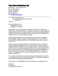 Intro To Recommendation Letter Letters Of Recommendation Baywood Interior Millwork
