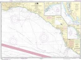 Noaa Navigation Charts Noaa Nautical Chart 18725 Port Hueneme To Santa Barbara Santa Barbara Channel Islands Harbor And Port Hueneme Ventura