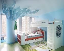 Kids Bedroom Design Bedroom Modern Boys Kids Room With Cherry Wood Frame Bunk Bed In