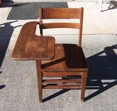 vintage solid wood student desk
