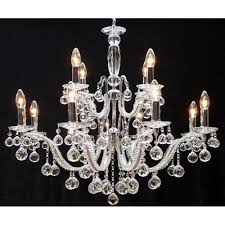 fantastic lighting mozart 600 12 6 chrome with beaded arm ball ts chandelier