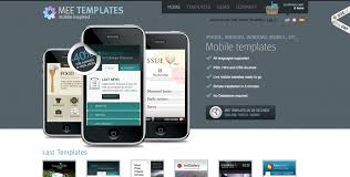 Mobile Website Template Best Mee Templates Luca Martincigh Mobile Website Template