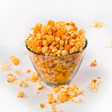 bacon and cheese flavored popcorn