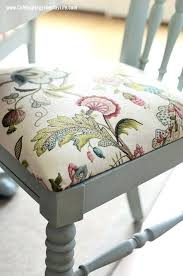 recover chair cushion reupholster dining chair cushions on nice home