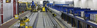 5500 ton press runout table in carthage tn plant