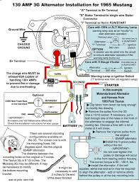 mustang alternator wiring image wiring diagram how important to fuse 3g alternator vintage mustang forums on 94 mustang alternator wiring