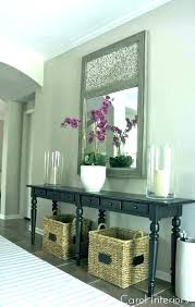 Entry Hall Ideas Table Narrow Tables Hallway Great Idea For And Adding Storage
